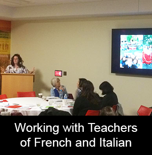 Working with Teachers of French and Italian